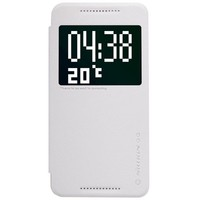Полиуретановый чехол Nillkin Super Frosted Shield White для HTC One E9/One E9 Plus