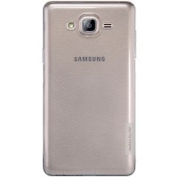 Силиконовый чехол Nillkin Nature TPU Case Grey для Samsung Galaxy On7