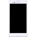 Пластиковый чехол Nillkin Super Frosted Shield White для Sony Xperia T2 Ultra Dual(#2)