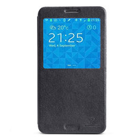 Кожаный чехол Nillkin V-Series Black для Samsung N9000 Galaxy Note 3