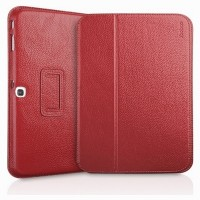 Кожаный чехол Yoobao Executive Leather Case Red для Samsung Galaxy Tab 3 10.1 P5200