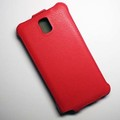 Кожаный чехол Armor Case Red для Samsung N9000 Galaxy Note 3(#2)
