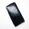 Кожаный чехол Abilita Leather Case Black Crocodile для HTC One Dual Sim(#1)