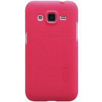 Пластиковый чехол Nillkin Super Frosted Shield Red  для Samsung G350E Galaxy Star Advance