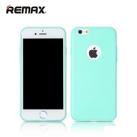 Силиконовый бампер Remax Jelly TPU Case Light Blue Mate для Apple iPhone 6/6S