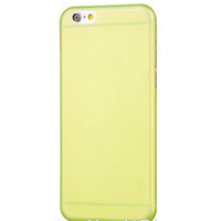 Пластиковый чехол HOCO Ultrathin Case 0.5mm Yellow для Apple iPhone 6/6S