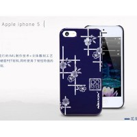 Пластиковый чехол Nillkin Platinum Series Flowers 3 для Apple iPhone 5/5S/5SE