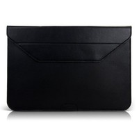 Кожаный чехол BGR Leather Case Black для Apple MacBook Air 13