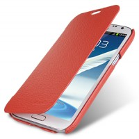 Кожаный чехол Melkco Leather Case Red LC для Samsung N7100 Galaxy Note 2