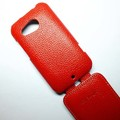 Кожаный чехол Melkco Leather Case Red LC для HTC Desire 200(#3)