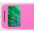 Полиуретановый чехол Nillkin Sparkle Leather Case Rose для HTC One M8 mini 2(#2)