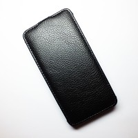 Кожаный чехол Armor Case Black для Alcatel One Touch Idol Ultra 6033X