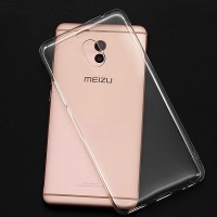 Силиконовый бампер Becolor TPU Case 0.6mm Transparent для Meizu M6 Note