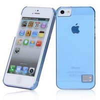 Пластиковый чехол HOCO Colorful Protective Case Blue для Apple iPhone 5/5S/5SE