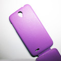 Кожаный чехол Armor Case Purple для Lenovo IdeaPhone A850(#3)