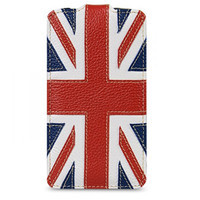 Кожаный чехол Melkco Premium Case The Nations Britain для HTC One M7
