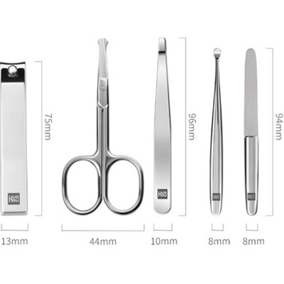 Маникюрный набор Xiaomi Huo Hou Stainless Steel Nail Clipper Set(2)