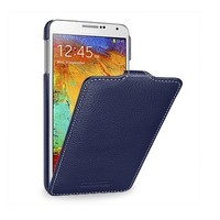 Кожаный чехол-книга Melkco Leather Case Dark Blue LC для Samsung N9000 Galaxy Note 3