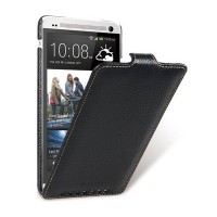 Кожаный чехол Melkco Leather Case Black LC для HTC One Max/T6