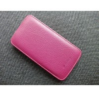 Кожаный чехол Melkco Leather Case Purple LC для Samsung i9500 Galaxy S4