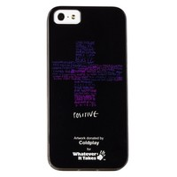 Пластиковый чехол WHATEVER IT TAKES Coldplay для Apple iPhone 5/5S/5SE