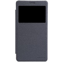 Полиуретановый чехол Nillkin Sparkle Leather Case Black для Lenovo Note8 A936