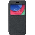 Полиуретановый чехол Nillkin Sparkle Leather Case Black для Lenovo Vibe Shot Z90(#1)
