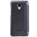 Полиуретановый чехол Nillkin Sparkle Leather Case Black для Meizu M2 mini(#2)