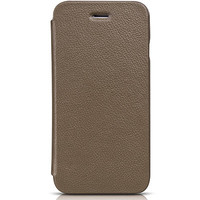 Кожаный чехол HOCO Premium Folder Series Khaki для Apple iPhone 6/6S