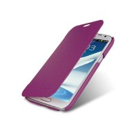 Кожаный чехол Melkco Leather Case Purple LC для Samsung N7100 Galaxy Note 2
