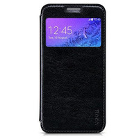 Кожаный чехол HOCO Crystal leather Case Black для Samsung G850 Galaxy Alpha
