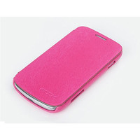 Чехол книга Rock Big City Pink для Samsung S7562 Galaxy S Duos