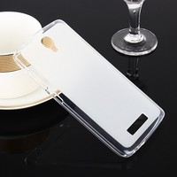 Силиконовый бампер Becolor TPU Case 1mm Transparent для ZTE Blade L5/L5 Plus