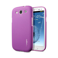Силиконовый чехол SGP Case Modello Series Purple для Samsung i9300 Galaxy S3
