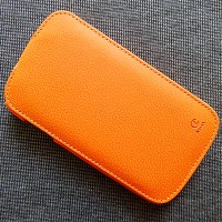 Кожаный чехол Rada Case Orange для Samsung i9060 Galaxy Grand Neo