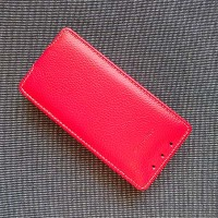 Кожаный чехол Melkco Leather Case Red LC для HTC One mini/M4
