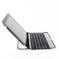 Клавиатура с русскими буквами Mobile Bluetooth Keyboard Black для Apple iPad 4/3/2