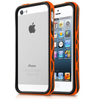 Бампер Itskins Venum Black/Orange для Apple iPhone 5/5S/5SE