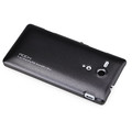 Пластиковый чехол ROCK NEW NakedShell Series Black для Sony Xperia SP M35i(#2)