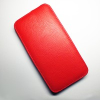 Кожаный чехол Armor Case Red для Lenovo IdeaPhone A850