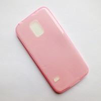 Силиконовый чехол Becolor 0.5mm Pink для Samsung G800F Galaxy S5 mini