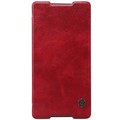 Кожаный чехол Nillkin Qin Leather Case Red для Sony Xperia Z4(#1)