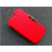 Чехол книга Flip Cover Red для Samsung i8190 Galaxy S3 mini