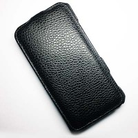 Кожаный чехол Abilita Leather Case Black для Nokia Lumia 1320