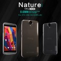 Силиконовый чехол Nillkin Nature TPU Case Grey для HTC One E9/One E9 Plus(#4)