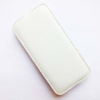 Кожаный чехол Armor Case White для Alcatel One Touch Idol Mini 2 6016X