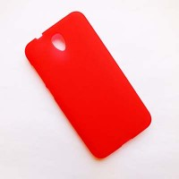 Силиконовый чехол Becolor Red Mat для Alcatel One Touch Idol 2 6037B