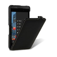 Кожаный чехол Melkco Leather Case Black LC для BlackBerry Z10