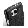 Кожаный чехол Melkco Leather Case Black LC для Samsung G850 Galaxy Alpha(#4)