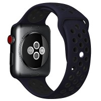 Ремешок Nike синий-черный для Apple Watch Series 4/5 44mm
